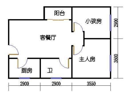云山丽水J5栋07单元