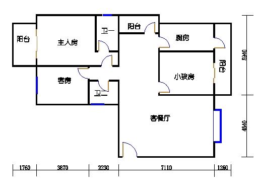 2号楼1单元