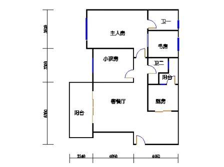 8号楼1层A单元01
