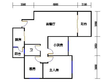 8号楼1层B单元03