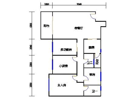 8号楼2层B单元02