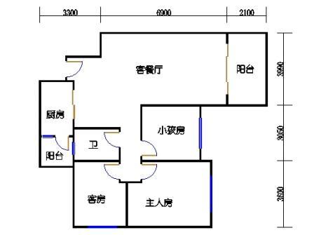 8号楼3层B单元03
