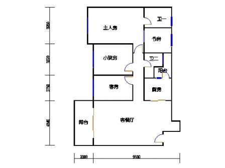 8号楼4层B单元01