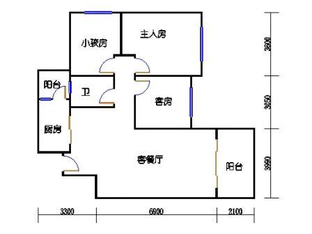 8号楼4层B单元04