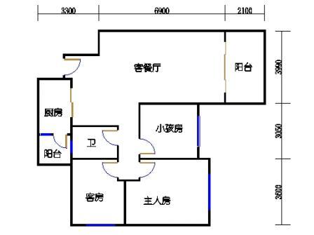 8号楼5~8层A单元03