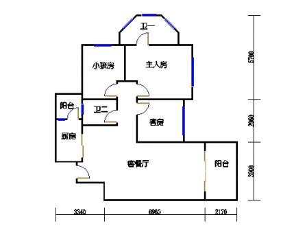 8号楼9层A单元04