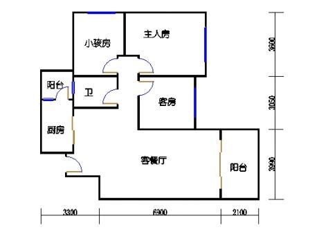 8号楼11层B单元04