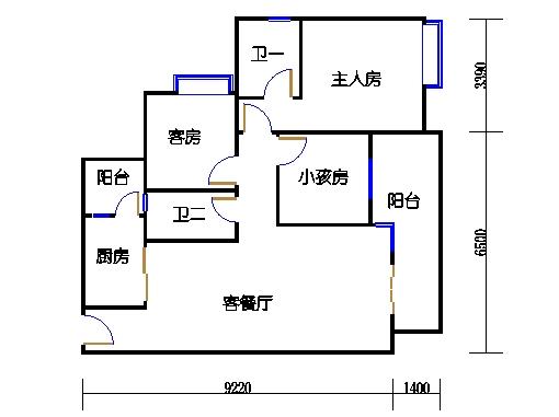 A2栋4~10层01单元