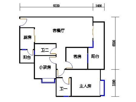 A2栋4~10层02单元