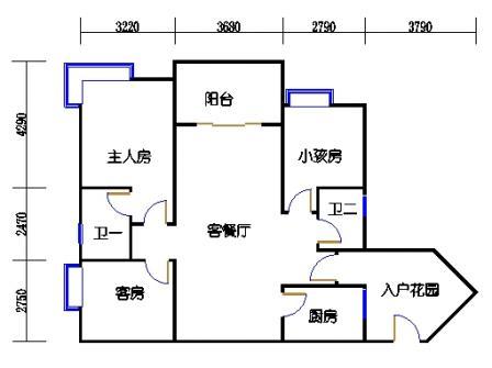 A2栋4~10层04单元