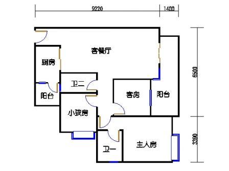 A3栋4~10层02单元
