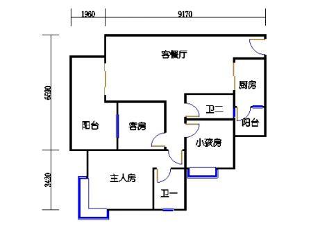 A6栋4~10层04单元