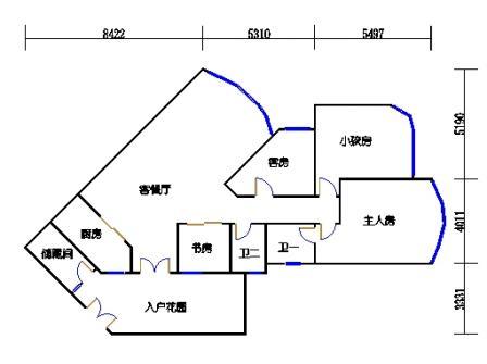 A5栋01单元(A户型)