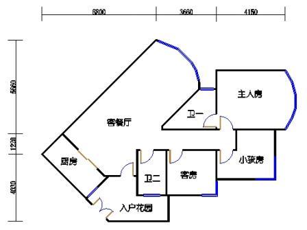 A4栋04单元(D户型)