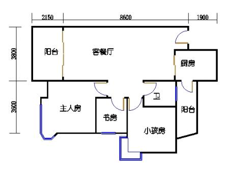 第9栋3-13层03单元