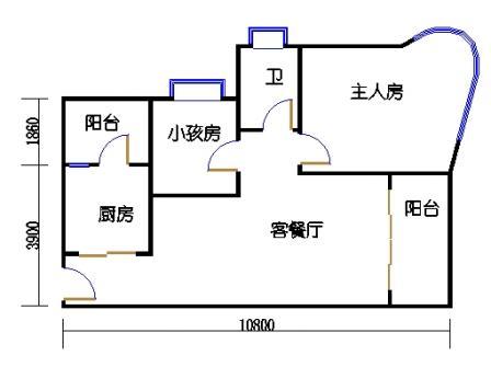 第10栋双数层03单元