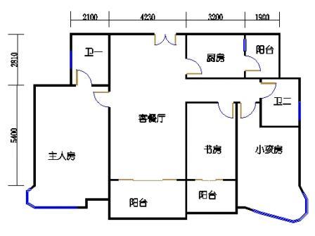 第12栋双数层05单元