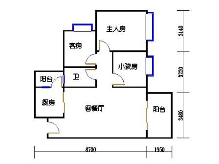 D3栋2层01单元