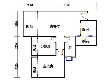 D3栋2层04单元