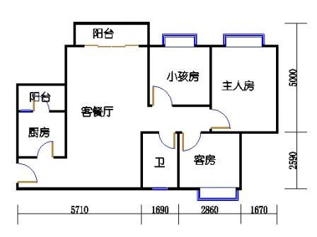 D3栋3层03单元