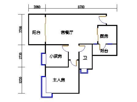 D3栋3层04单元