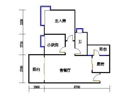 D3栋3层05单元