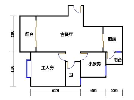 E-1栋标准层04、08、12单元