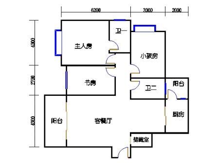 E-1栋标准层01、05、09单元
