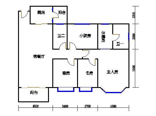 E2-4栋复式上层02、05单元
