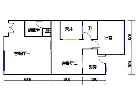E-e1-6型首层02单元