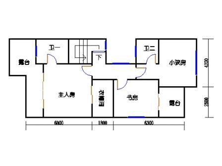 E-e1-6型二层02单元