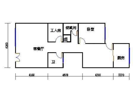 E-d1-8型首层02单元
