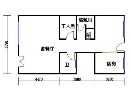 E-d9-12型首层02单元