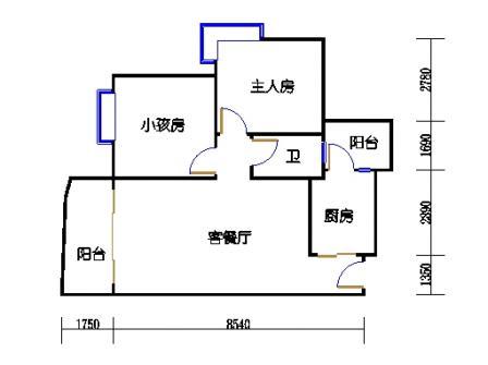 云湖湾A1A2A3-3层04单元