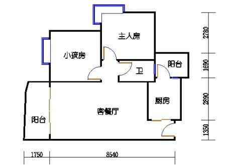云湖湾A1A2A3-4层04单元