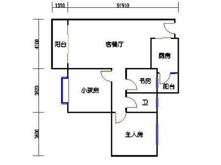 云湖湾A1A2A3-5层03单元