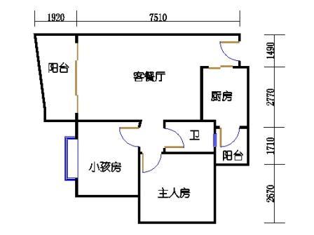云湖湾A1A2A3-7层03单元