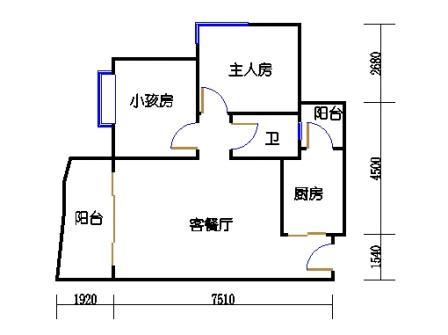 云湖湾A1A2A3-8层04单元