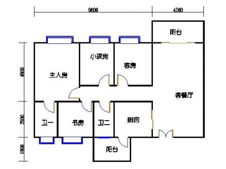 3栋3~13层03单元