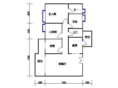 5栋3~16层04单元