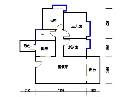 8栋4~12层01单元