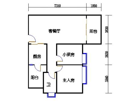 8栋4~12层02单元