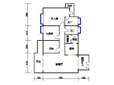 9栋4~11层04单元