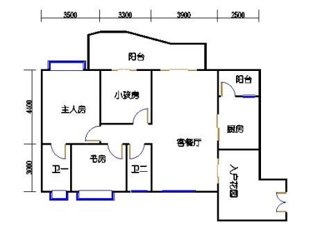 A7栋3-7层03单元