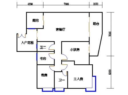 A7栋12-26层02单元