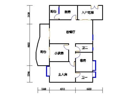 A7栋12-26层03单元