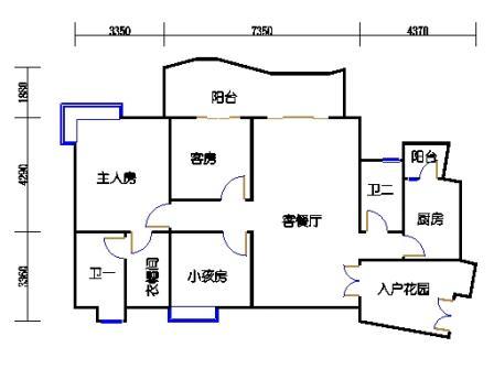 A7栋12-26层05单元