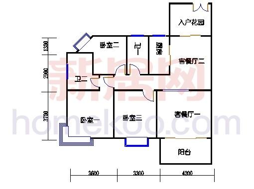 A2栋4层04单位