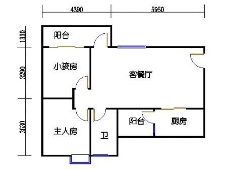 Y1栋2层03单元