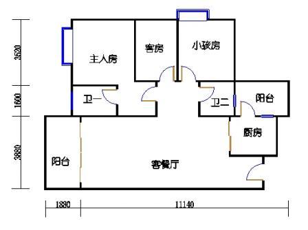 Y1栋2层05单元